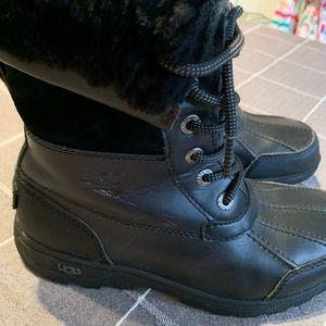 UGG Shoes - EUC Kids Ugg Butte black boots